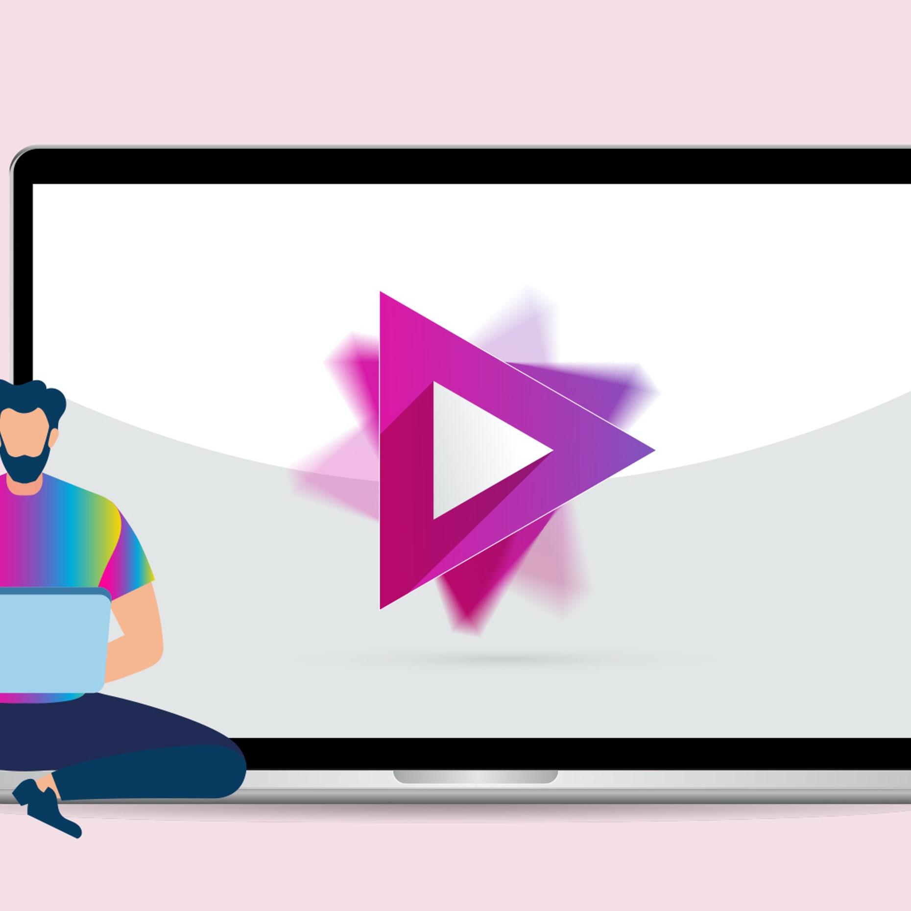 Make creative logo with animator